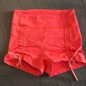 Lululemon tie front shorts